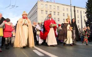 Orszak Trzech Króli w Gdyni 2018