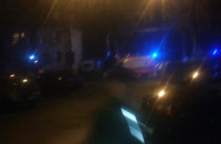 Straż pożarna i karetki na Twardej w Gdańsku