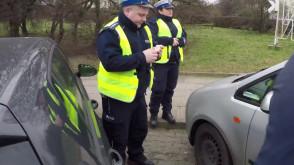 Dzień z patrolem policyjnej drogówki