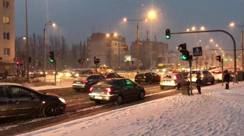 Trudna sytuacja drogowa w centrum Gdyni