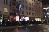 Przemarsz protestujących w Gdyni