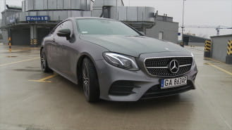 Prawdziwa gwiazda Mercedesa - E Coupe