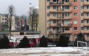 Pożar w mieszkaniu na ul. Rozewskiej w Chyloni