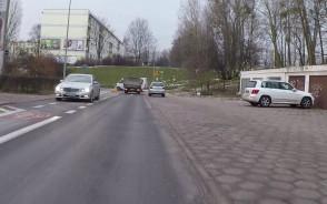 Mercedesem pod prąd na jednokierunkowej
