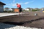 przygotowanie terenu pod trawnik tak z rolki jak i siany