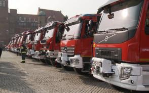 Uroczyste przekazanie sprzętu dla strażaków