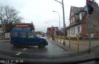 Kierowca postanowił wstrzymać ruch na prawie dwie minuty