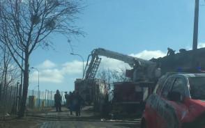Akcja straży pożarnej na Kartuskiej