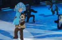 Masza i Niedźwiedź na lodzie