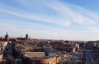 Antonov nad centrum Gdańska