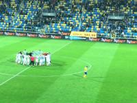 Radość piłkarzy Lechii po wygranych derbach