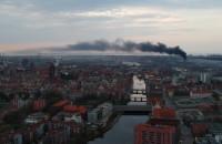 Pali się w Gdańsku