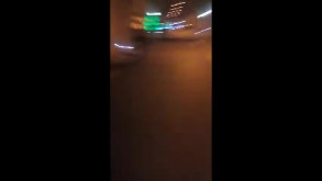 Ewakuacja w tunelu pod Martwą Wisłą - pożar