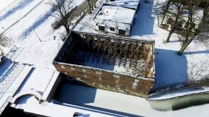 Ruina XVII-wiecznego młyna w Gdańsku