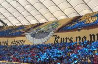 Oprawa stadionowa kibiców Arki