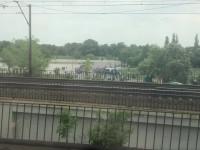 Kibice Arki już pod Stadionem Narodowym