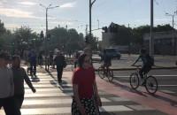 Tłumy rowerzystów na Hucisku - rowerowy maj w pełni