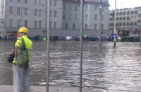 Potop przy Forum Gdańsk