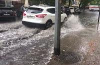 Dolny Sopot zalany