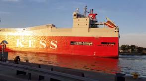 Kess wychodzi w morze