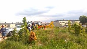Gaz w gimnazjum w Wejherowie