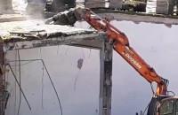 Wyburzanie na terenie Starego Browaru