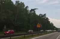 Korek na obwodnicy na Matarnia w stronę A1i