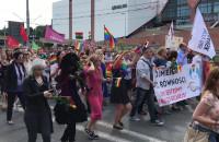 Początek IV Trójmiejskiego Marszu Równości