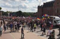 Marsz Równości 2018 na wysokości Krewetki
