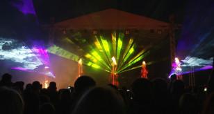 Laserowy pokaz w ramach Święta Miasta Gdańska