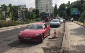 Remont nawierzchni na ul. Stryjskiej w Gdyni