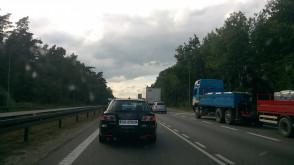 Korek na obwodnicy od Ikei w kierunku Gdyni