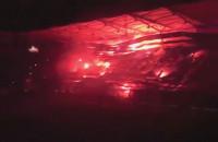 Iluminacja na stadionie w Gdyni