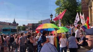 Dwa protesty przed Radą Miasta Gdańsk