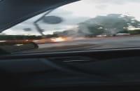 Samozapłon auta w Redzie