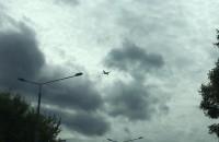 Antonow podchodzi do lądowania w Gdańsku