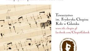 LIVE: 07.07.2018, godz. 12:00 - Chopin na przedprożach gdańskich kamienic - Galeria VNS