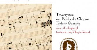 LIVE: 07.07.2018, godz. 11:00 - Chopin na przedprożach gdańskich kamienic - Glaza Expo Design