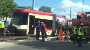 Po wykolejeniu tramwaju na Przymorzu
