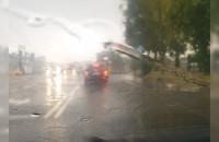 Silne opady deszczu w Chyloni. Po ...