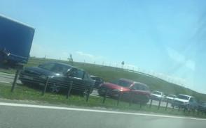 Wypadek na A1 w stronę Gdańska mega ...