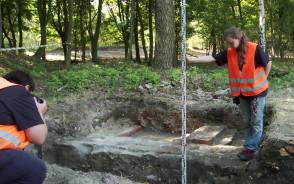 Archeolodzy badali Szaniec Wschodni Twierdzy Wisłoujście