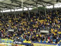 Niekowencjonalny doping kibiców Arki Gdynia