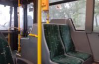 Gradobicie nagrane z gdańskiego autobusu
