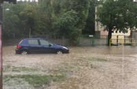 Małomiejska na Oruni zamieniła się w rzekę