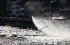 Pokazy Water Show na Motławie