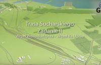 Trasa Sucharskiego - wizualizacja