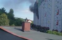 Pożar Gdynia Obłuże