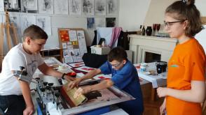 Warsztaty Sitodruku w Prostej Kresce czyli zaprojektuj i nadrukuj własną torbę lub t-shirt