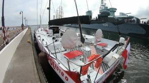 """Jacht """"I love Poland"""" zacumował w Gdyni"""